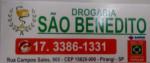 DROG. SÃO BENEDITO